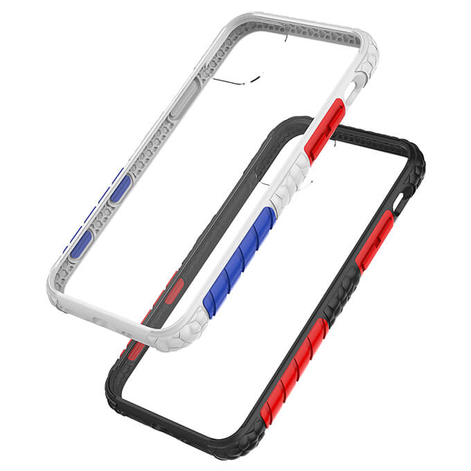 2020 New Arrival Shockproof Transparent Back Phone Case for iPhone 11 Pro Max