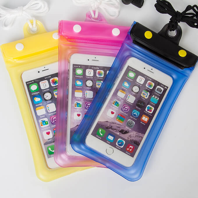 China Suppliers Waterproof Phone Bag Case Transparent Pouch Dry Universal for iPhone