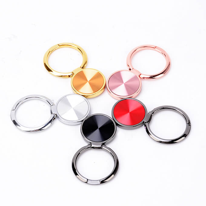 Metal Flexible Universal Finger Ring Grip Cell Phone Holder for All Smartphone