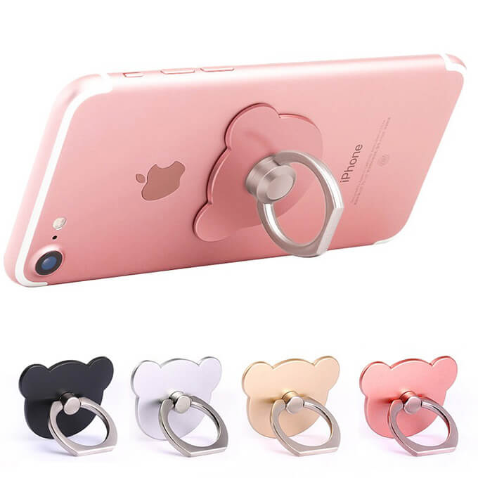 Wholesale 360 Rotation Mobile Phone Hand Ring Holder Stand
