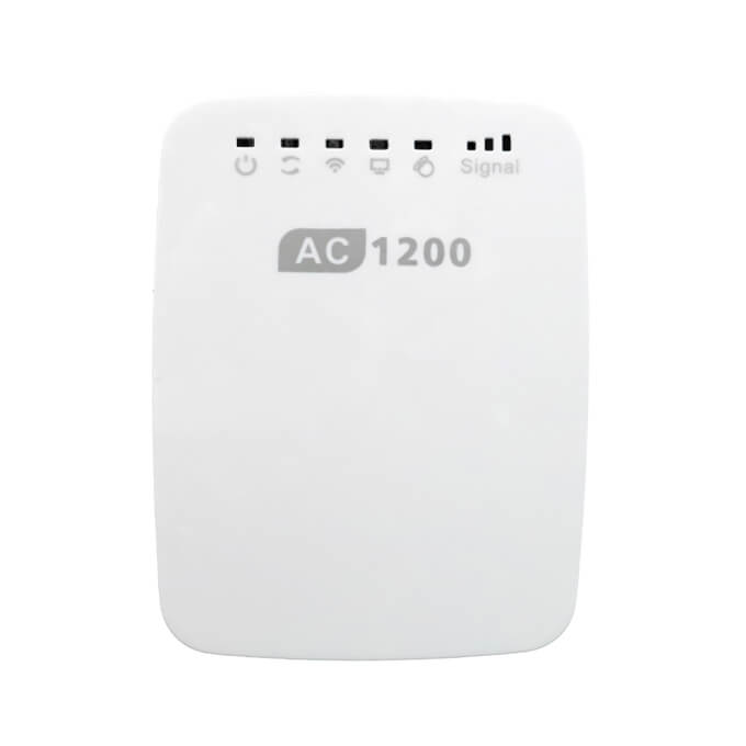 Leadingplus Wholesales 2.4G 5Ghez 1200Mbps Wireless Repetidor Wifi Repeater