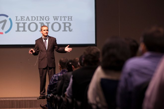 Leading with Honor - Training with Lee Ellis