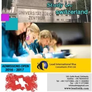 Best Opportunity to Study and Settle in Switzerland