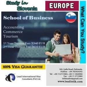 Study in Slovenia srilanka