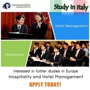 Study in italy hotel management