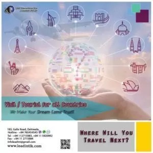 Travel to your all dream countries Srilanka