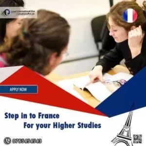 Opportunities awaits you in France