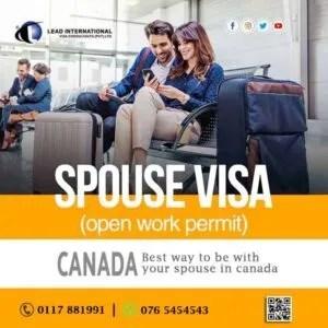 Spouse Visa in Canada Open Work Permit