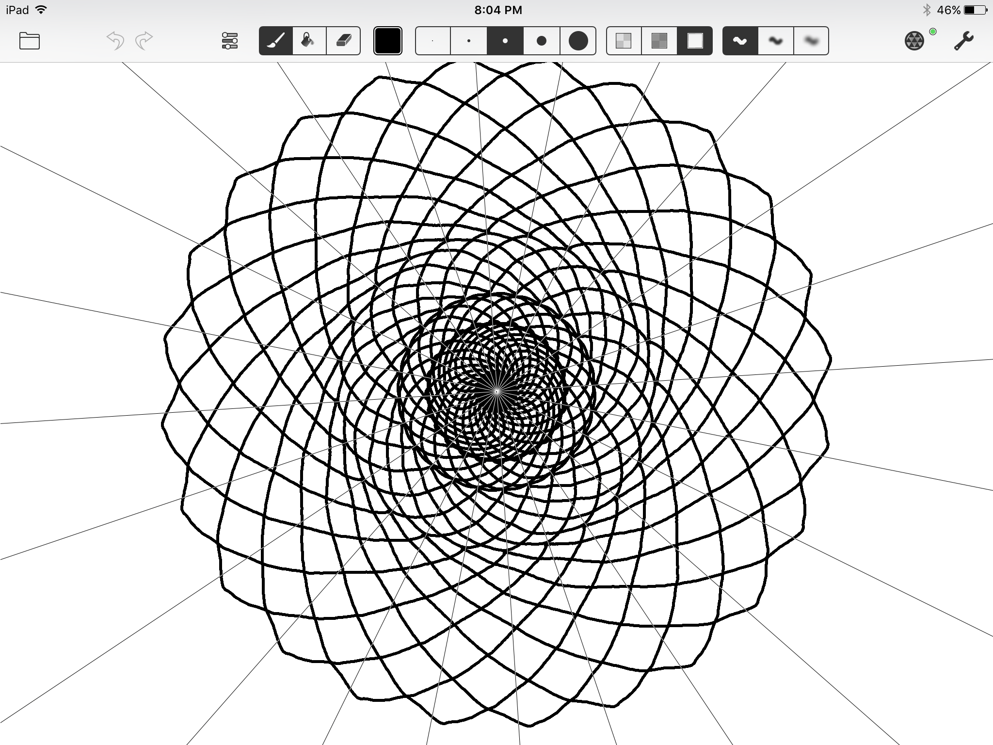 Amaziograph's a Fun Symmetrical Drawing App for the iPad