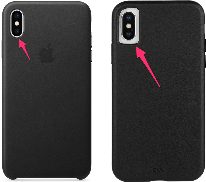 brand new 18d94 65ee3 Case-Mate Barely There Leather iPhone XS Case Review - Leaf&Core