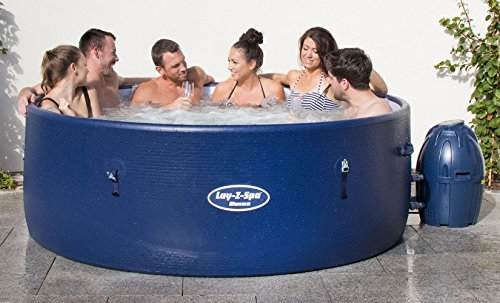 Lay-Z-Spa Monaco: Hot Tub only Available in Uk