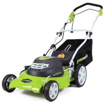 GreenWorks corded 12 amp 20-inch Lawn Mower review