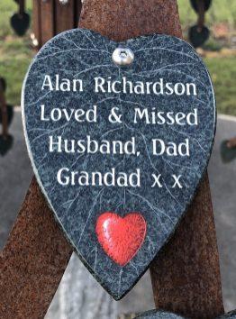 Alan Richardson, Loved & Missed Husband, Dad, Grandad x x