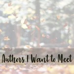 authors I want to meet cover image