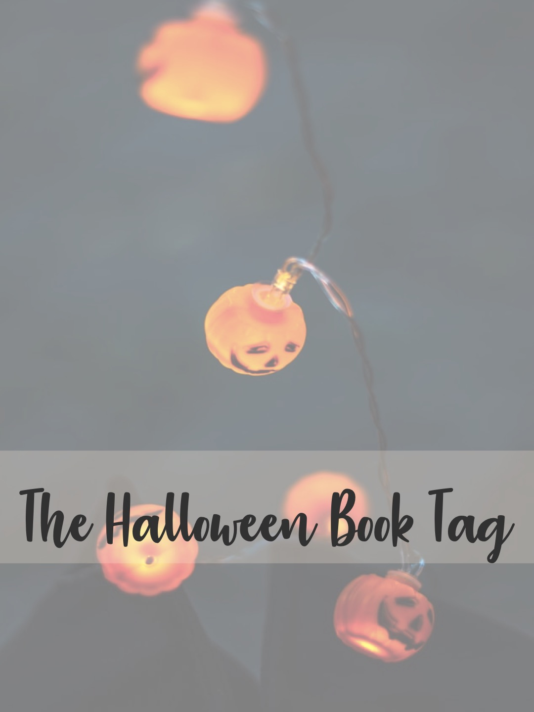 The Halloween Book Tag