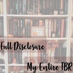 My full TBR cover image