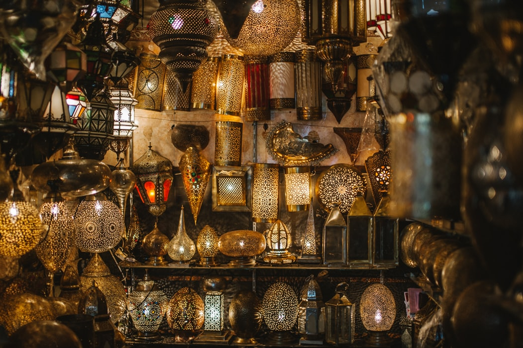 Image of Moroccan style lamps