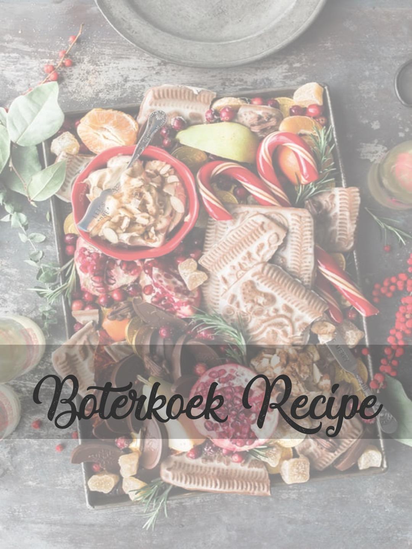 "Recipe: how to make Dutch ""boterkoek"""