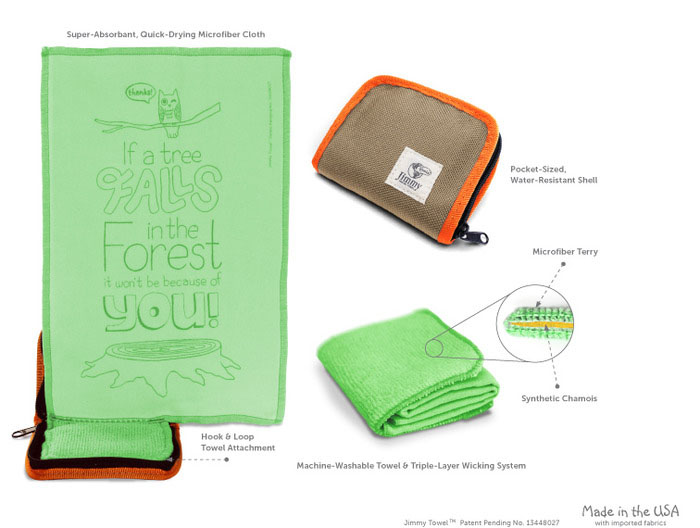 Jimmy Pocket Towel-Overview
