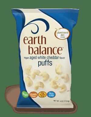 Earth Balance-Cheddar Puffs