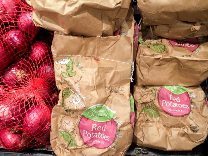 Wegmans Plastic Free Potatoes
