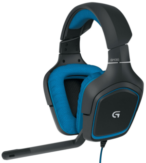 Best Headset League of Legends: Logitech G430 Surround Sound Gaming Headset with Dolby 7.1 Technology