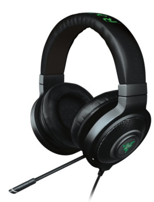 Best Headset League of Legends: Razer Kraken 7.1 Chroma Sound USB Gaming Headset - Surround Sound with Retractable Digital Microphone