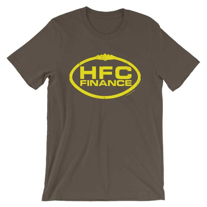 HFC Finance ooty jumpers brown gold