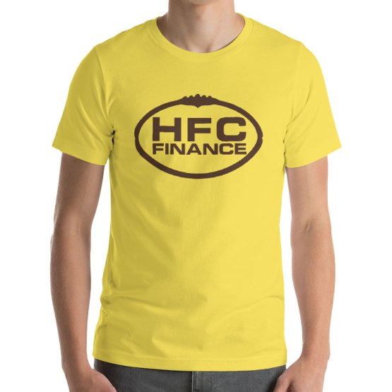 HFC Finance football shirt