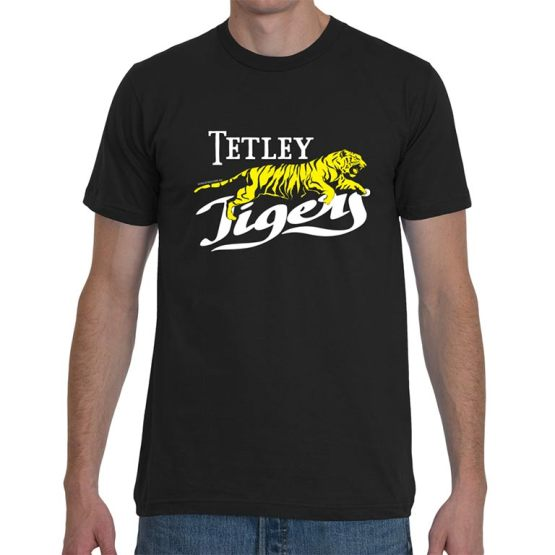 Tetley tigers retro football shirt