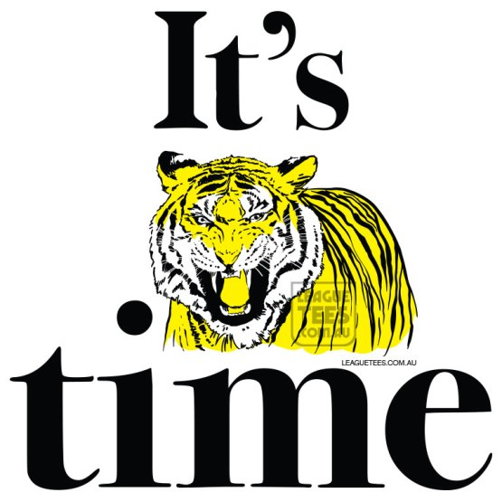 its tiger time