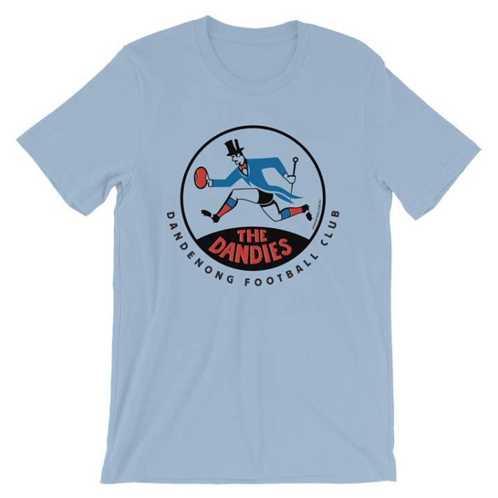 Dandenong Dandies VFA vintage tshirt blue