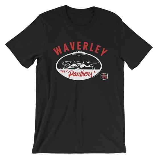 Waverley Panthers VFA vintage tshirt black