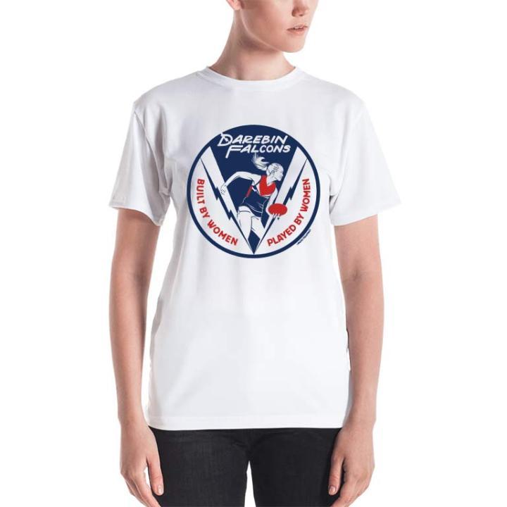 darebin falcons womens football tshirt