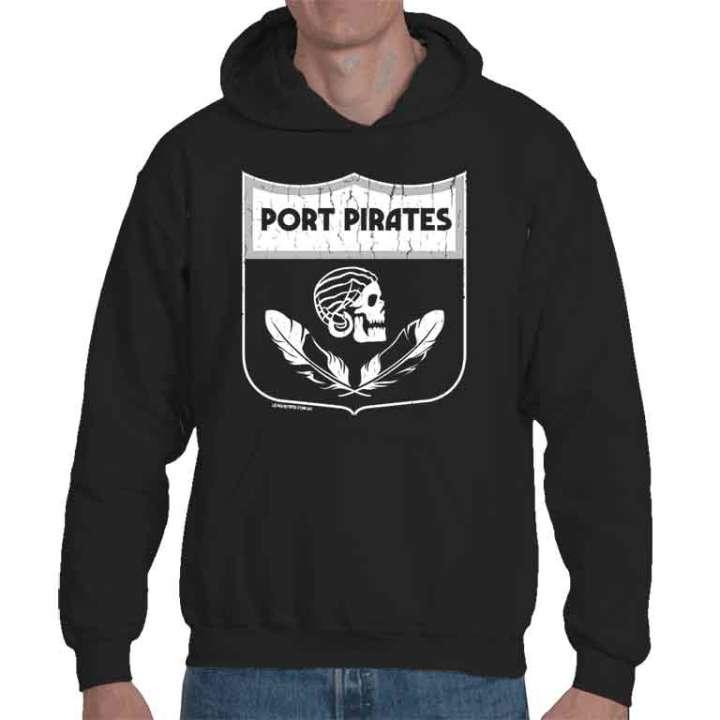port pirates adelaide football hoodie black