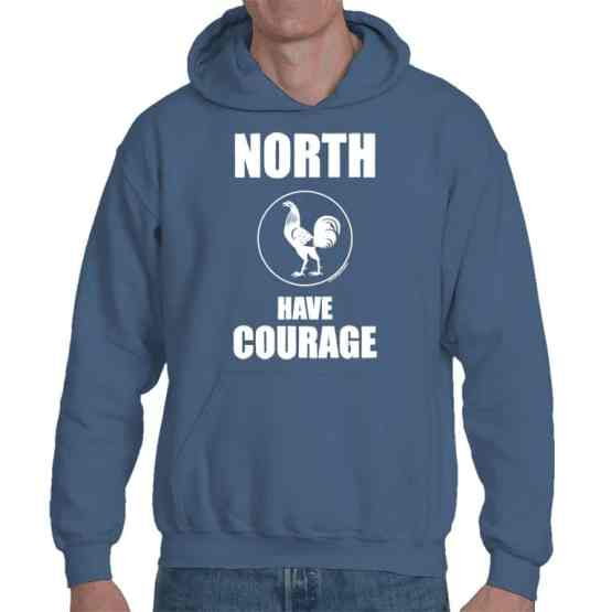 north has courage vintage hoodie