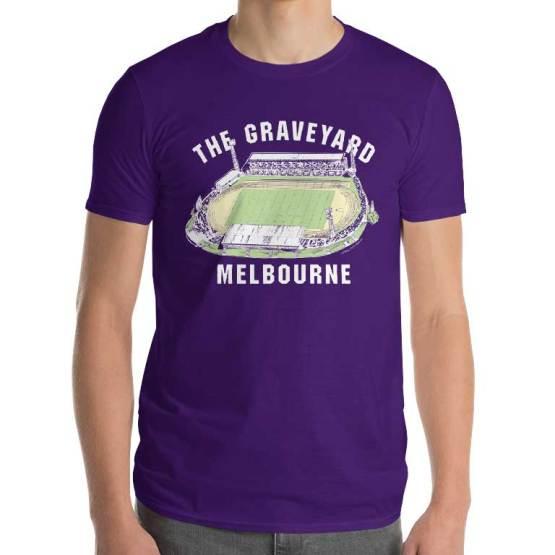 the graveyard melbourne olympic park vintage tshirt
