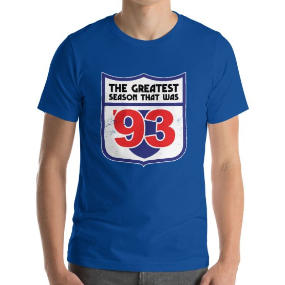 the greatest season 1993 podcast t-shirt