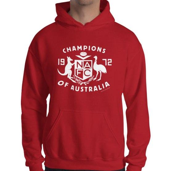 north champions of australia hoodie