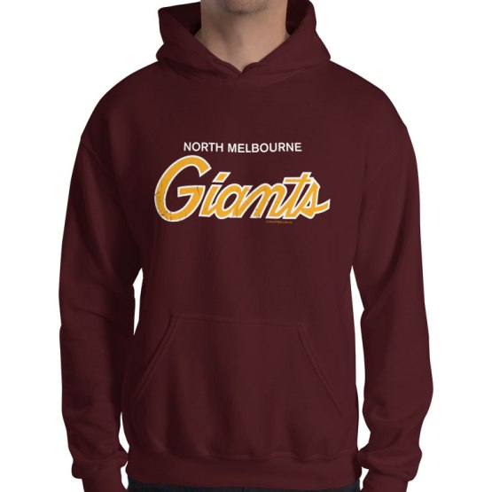 giants north melbourne basketball retro hoodie