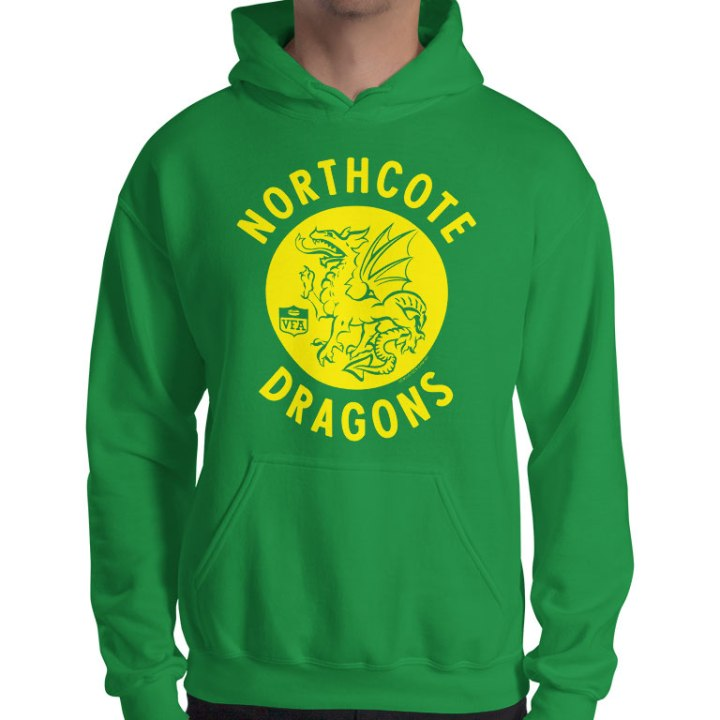northcote dragons vfa footy jumpers
