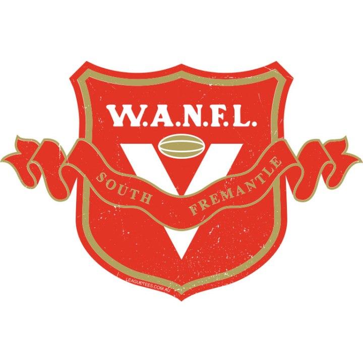 south fremantle football club retro logo