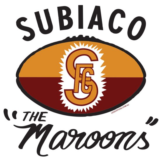 subiaco football club retro logo