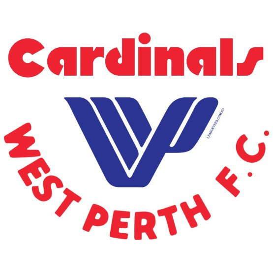 west perth cardinals retro logo