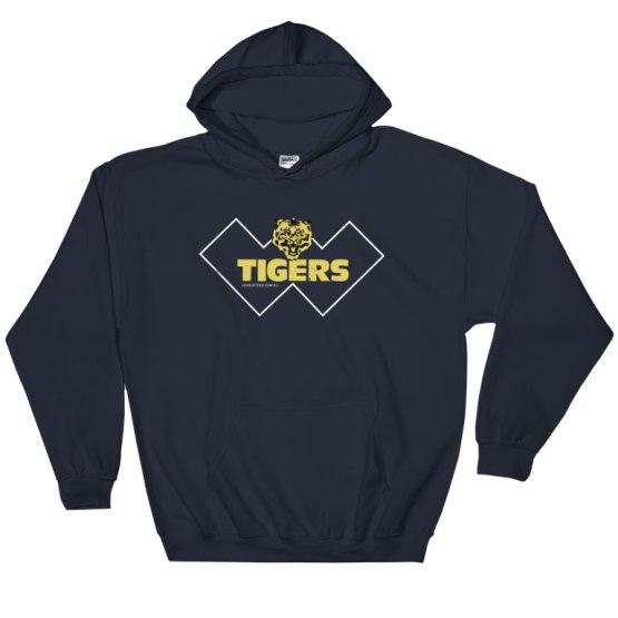 claremont tigers footy hoodie
