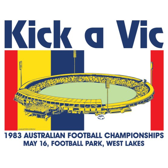 state of origin kick a vic