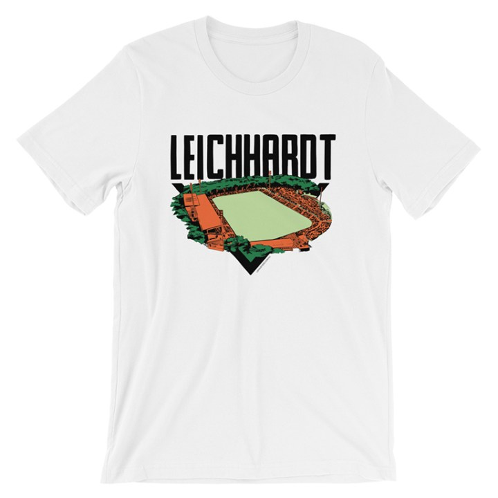 leichhardt oval t-shirt white