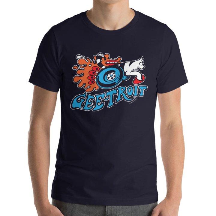 geetroit geelong football tshirt