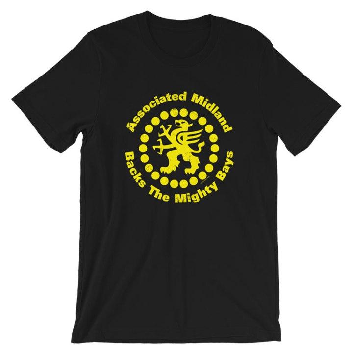 glenelg associated midland sponsor t-shirt black