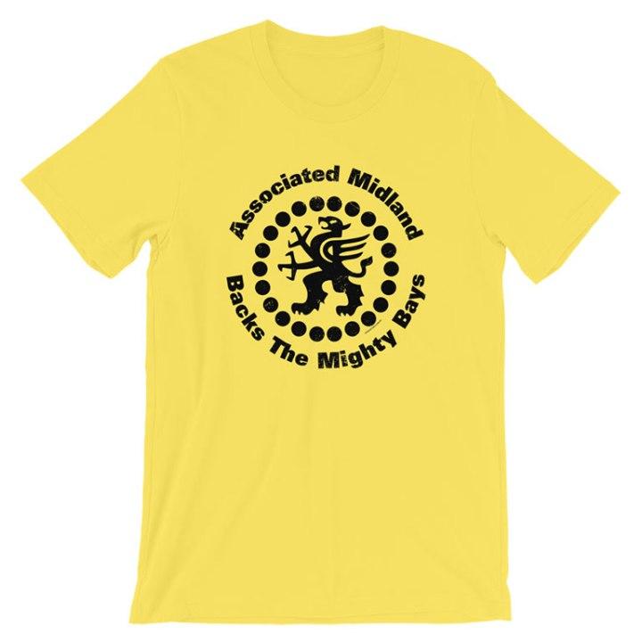 glenelg associated midland sponsor t-shirt yellow